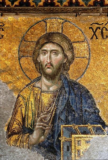 Господь Вседержитель. Мозаика храма св. Софии Константинопольской