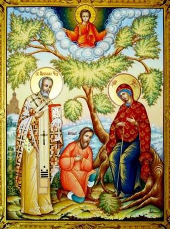 Беседная икона Божьей Матери
