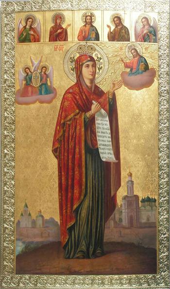 Боголюбская икона Божьей Матери