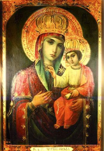Черниговская Гефсиманская икона Божьей Матери