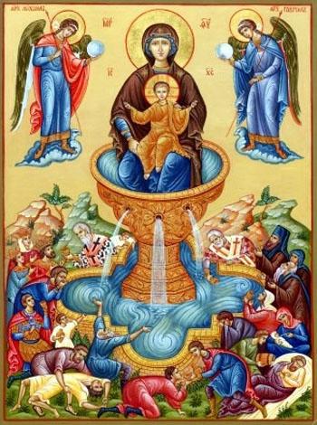 Икона Божьей Живоносный Источник