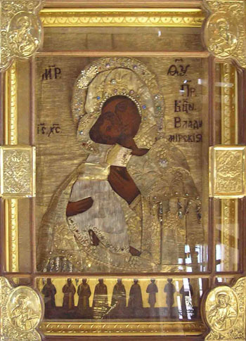 Владимирская Оранская икона Божьей Матери